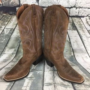 Ariat Geniune Leather Women Boots Sz 6B